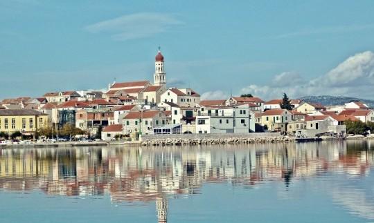 Island Murter Croatia Accommodation On Island Murter Apartments Fishermans Houses
